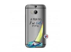 Coque HTC ONE M8 Je Peux Pas J Ai Voile