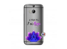 Coque HTC ONE M8 Je Peux Pas J Ai Yoga