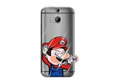 Coque HTC ONE M8 Mario Impact
