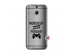 Coque HTC ONE M8 Monsieur Mauvais Perdant