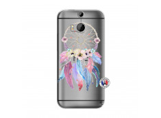 Coque HTC ONE M8 Multicolor Watercolor Floral Dreamcatcher