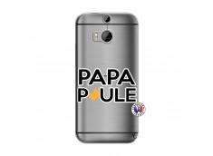 Coque HTC ONE M8 Papa Poule