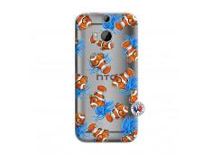 Coque HTC ONE M8 Poisson Clown