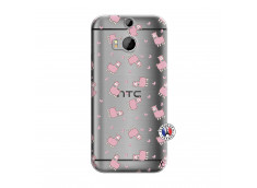 Coque HTC ONE M8 Petits Moutons