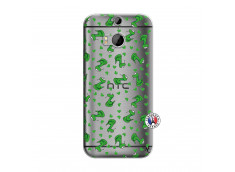 Coque HTC ONE M8 Petits Serpents