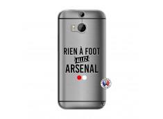 Coque HTC ONE M8 Rien A Foot Allez Arsenal