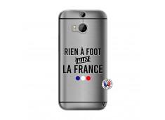 Coque HTC ONE M8 Rien A Foot Allez La France