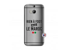 Coque HTC ONE M8 Rien A Foot Allez Le Maroc