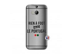 Coque HTC ONE M8 Rien A Foot Allez Le Portugal