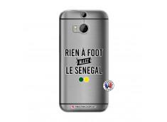 Coque HTC ONE M8 Rien A Foot Allez Le Senegal
