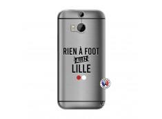 Coque HTC ONE M8 Rien A Foot Allez Lille