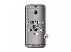 Coque HTC ONE M8 Rien A Foot Allez Liverpool