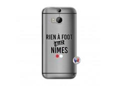 Coque HTC ONE M8 Rien A Foot Allez Nimes