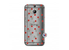Coque HTC ONE M8 Rose Pattern