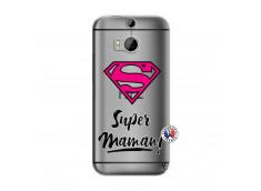 Coque HTC ONE M8 Super Maman