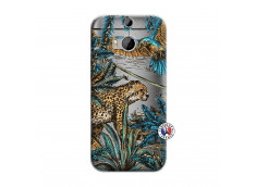 Coque HTC ONE M8 Leopard Jungle