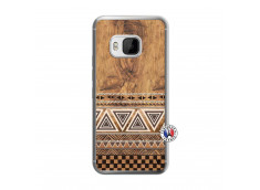 Coque HTC ONE M9 Aztec Deco Translu