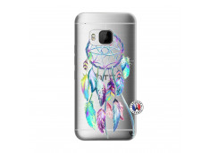 Coque HTC ONE M9 Blue Painted Dreamcatcher