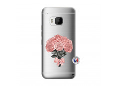 Coque HTC ONE M9 Bouquet de Roses
