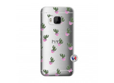 Coque HTC ONE M9 Cactus Pattern