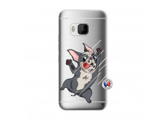 Coque HTC ONE M9 Dog Impact