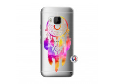Coque HTC ONE M9 Dreamcatcher Rainbow Feathers