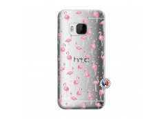 Coque HTC ONE M9 Flamingo