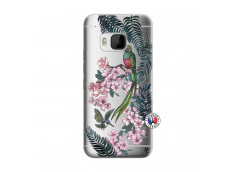 Coque HTC ONE M9 Flower Birds