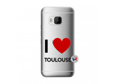 Coque HTC ONE M9 I Love Toulouse