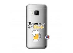 Coque HTC ONE M9 Jamais Sans Ma Blonde