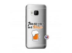 Coque HTC ONE M9 Jamais Sans Ma Rousse