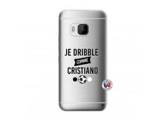 Coque HTC ONE M9 Je Dribble Comme Cristiano