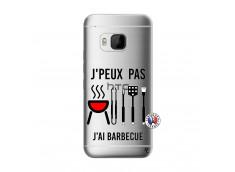 Coque HTC ONE M9 Je Peux Pas J Ai Barbecue