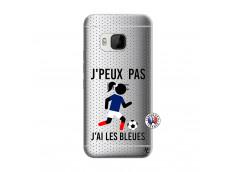 Coque HTC ONE M9 Je Peux Pas J Ai Les Bleues Maillot