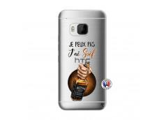 Coque HTC ONE M9 Je Peux Pas J Ai Soif