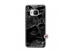 Coque HTC ONE M9 Black Marble Translu