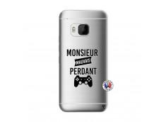 Coque HTC ONE M9 Monsieur Mauvais Perdant