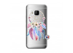 Coque HTC ONE M9 Multicolor Watercolor Floral Dreamcatcher