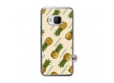 Coque HTC ONE M9 Sorbet Ananas Translu
