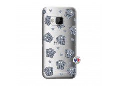 Coque HTC ONE M9 Petits Elephants
