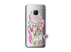 Coque HTC ONE M9 Pink Painted Dreamcatcher