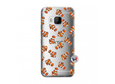 Coque HTC ONE M9 Petits Poissons Clown