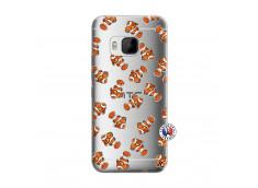 Coque HTC ONE M9 Petits Poissons Clown