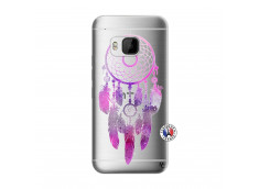 Coque HTC ONE M9 Purple Dreamcatcher