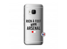Coque HTC ONE M9 Rien A Foot Allez Arsenal