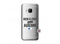 Coque HTC ONE M9 Rien A Foot Allez Auxerre