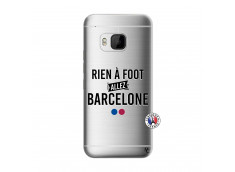 Coque HTC ONE M9 Rien A Foot Allez Barcelone