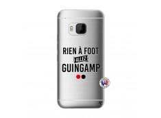 Coque HTC ONE M9 Rien A Foot Allez Guingamp