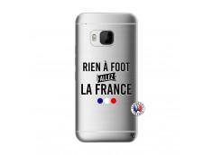 Coque HTC ONE M9 Rien A Foot Allez La France
