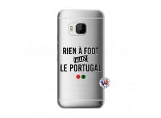 Coque HTC ONE M9 Rien A Foot Allez Le Portugal